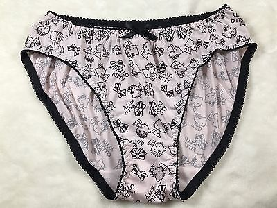 Vintage Japanese Hello Kitty Panties Briefs Nylon~polyester Knickers Panty Pink