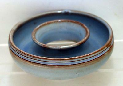 Prinknash Abbey Studio Pottery Posy Ring made in Red Earthenware