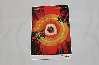 The Chemical Brothers Promo Postcard-IT BEGAN IN AFRICA