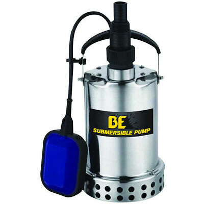 BE SP-750TD - 40 GPM Submersible Stainless Steel Utility Pump w/ Float Switch