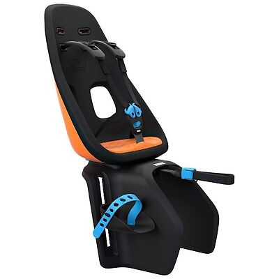 Thule Yepp Nexxt Maxi bicycle child baby Seat Orange New In Box Rear Rack