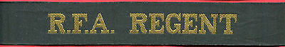 █► Königliche Marine mützenband Royal Navy cap tally hat ribbon 1980 (3)