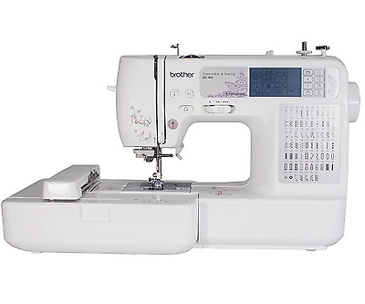 New Brother Sewing and Embroidery Computerized Machine SE400, Automatic Threader