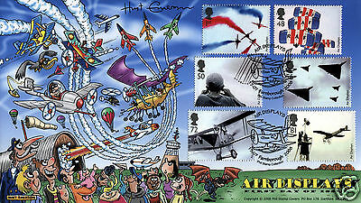 2008 Air Displays - Phil Stamp Official - SIGNED by HUNT EMERSON !