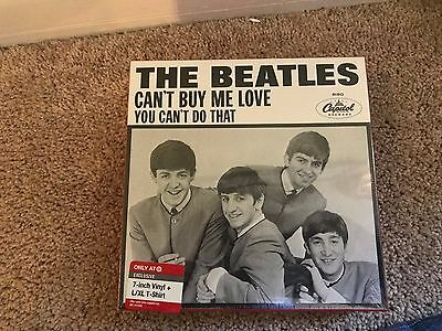 Beatles Picture Sleeve Set 45 with T Shirt  Target Exclusive