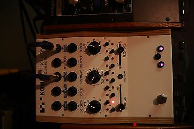 Koma FT 201 - Filter pedal with 10 step sequencer