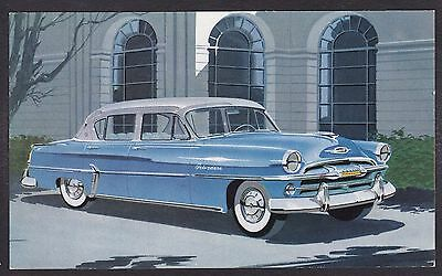 Circa 1954 Original Ad Postcard - PLYMOUTH BELVEDERE FOUR-DOOR SEDAN