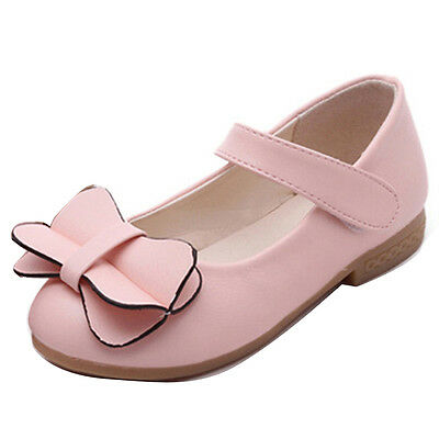 Fashion Kids Girls Princess Flat Dance Dress Shoes Child Mary Jane Party School