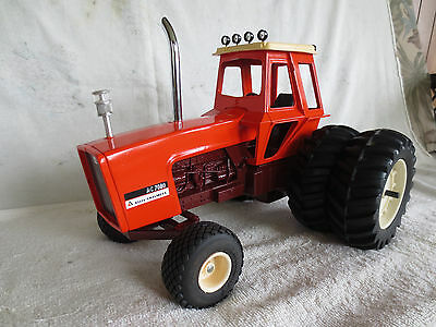 Ertl 1/16 Allis Chalmers 7080 Maroon Belly Farm Toy Tractor Custom L@@k!!!