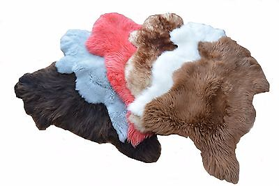 New Beautiful Rare Sheepskin Rugs Very Large Natural various Colours