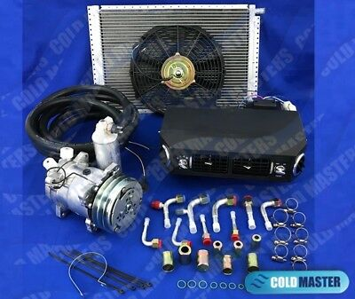 A/c Kit Universal Under Dash Evaporator Compressor Kit Air Conditioner 432-1 12V