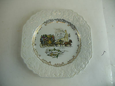 Lord Nelson plate
