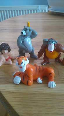 Jungle Book Figures Set Of 4 Bully Bully Characters