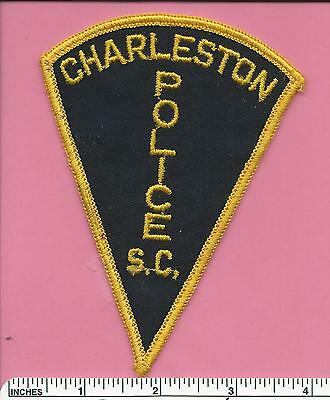 Old Charleston SC State of South Carolina Law Enforcement Police Patch