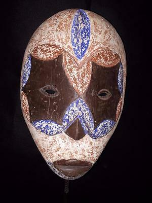 Old Tribal Ibiobio Mask Nigeria Africa Fes-2262
