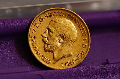 Half Gold Sovereign - Dated 1911 #2