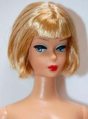 Gold 'n Glamour Barbie N and Retro Repro Vintage Look Blonde - NUDE Doll & Box
