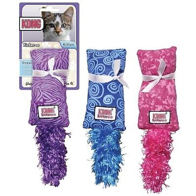 Kong Jouet En Peluche Cat Kickeroo Kitten - Pour Chat J85453002