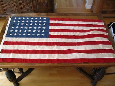 48 Star American Flag, 3'X5', Two Ply, Moth Proof, Sewn Stars and Stripes
