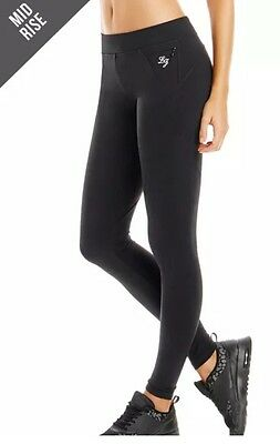 BNWT Lorna Jane Activewear Amy Full Length Black Tights - Size M