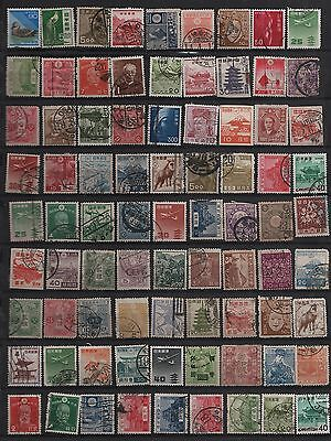 Japan Collection 80+  Definitives (1)
