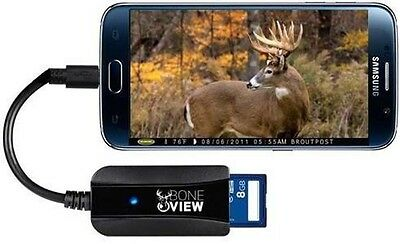 SD Card Reader Professional Edition Trail Camera Viewer for Android Phones 10X