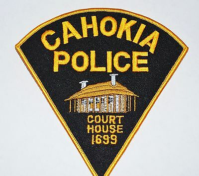 Cahokia Illinois Police Shoulder Patch
