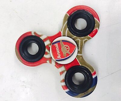 Limited Edition New Arsenal Football Club Fidget Spinner! Stress Free Toy