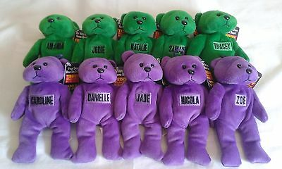NWTs Personalized Name Teddy Bean Bag Mates/Pals - Jodie x1 (This one only)