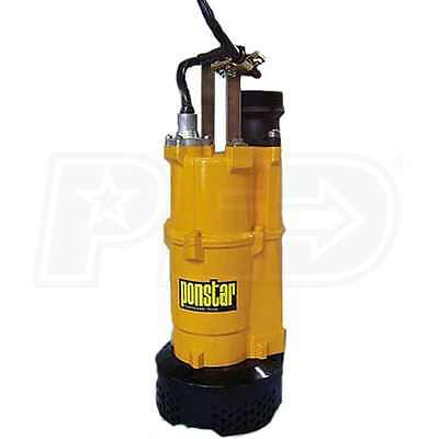 "3"" Submersible Electric Dewatering Pump NEW Contractor Heavy Duty 115/230v 2HP"
