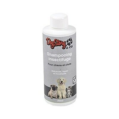 Dogstory Shampooing Insectifuge Pour Chat/chien 200 Ml - Lot De 2