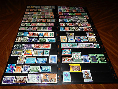 Middle East country IRN stamps - BIG lot of 145 mint hinged and used stamps !