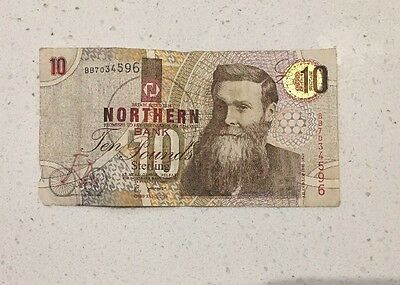 Old Northern Bank £10 Note
