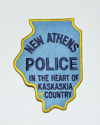 New Athens illinois Police Shoulder Patch