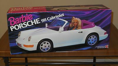 BARBIE Doll PORSCHE 911 CABRIOLET, 1993, #67206, NEW