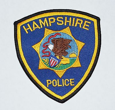 Hampshire illinois Police Shoulder Patch