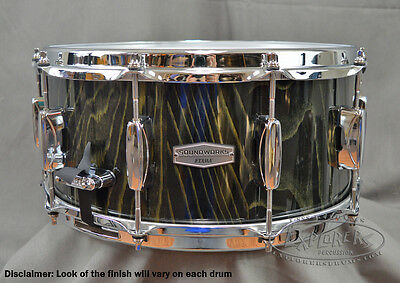Tama Snare Drum Limited Edition 6.5x14 Maple Snare Drum Featuring Lacebark Pine