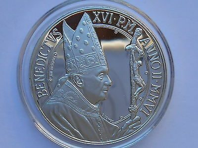 Vatican 5 euro 2006 The 39th World Day of Peace Silver Proof  Box COA