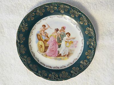 Antique Kpm Hand Painted & Artist Signed Grach Roman ~ Greek Mythological Plate