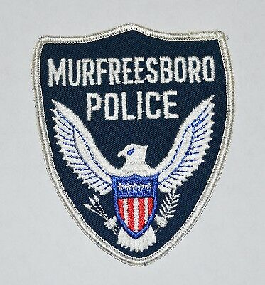 Murfreesboro Illinois Police Shoulder Patch Old Style