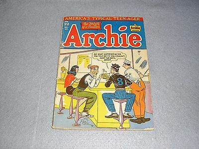 RARE Archie Comics No. 22 Sept-Oct 1949 1st First Edition COMPLETE FAIR TO GOOD
