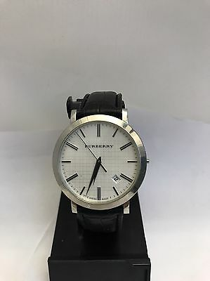 BURBERRY BU1722 Swiss Made Stainless Steel Men's  Bezel Watch Lot D28