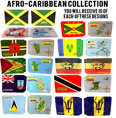100x AFRO CARIBBEAN WALLETS LOT BUS PASS CREDIT TRAVEL RAIL FOR OYSTER CARD
