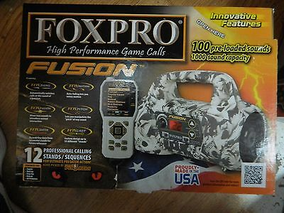 New FOXPRO Fusion Electronic Predator Game Call Coyote Hunting Fox Deer Bobcat