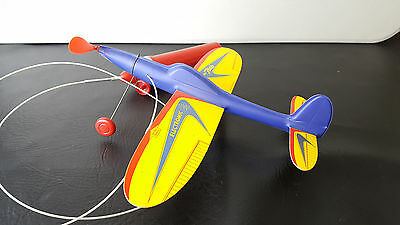Vintage Stanzel Electromic Flash Model Toy Airplane Battery Operated 1950s