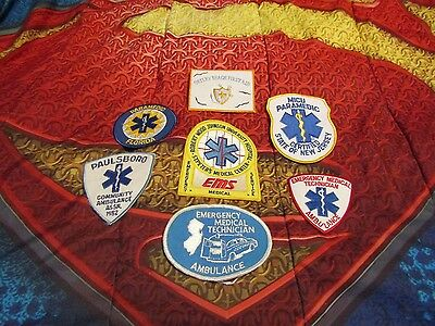 Lot Of 12 Different Patches Mostly From Njfd Fdny + 3 Decals New Never Sewn