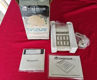 NOS - NEW X-10 POWERHOUSE AUTOMATION INTERFACE CONTROL ( RS-232 ) Model CP290