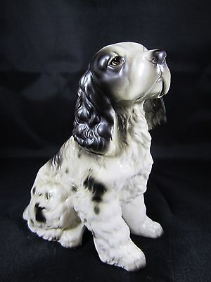 Vintage Enesco Spaniel Dog Porcelain Figurine E-3303 Japan