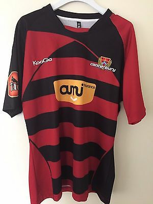 Canterbury ITM Cup Rugby Jersey [Size: XL]