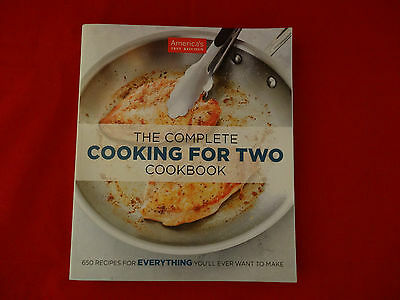 The Complete Cooking For Two Cookbook LIke New